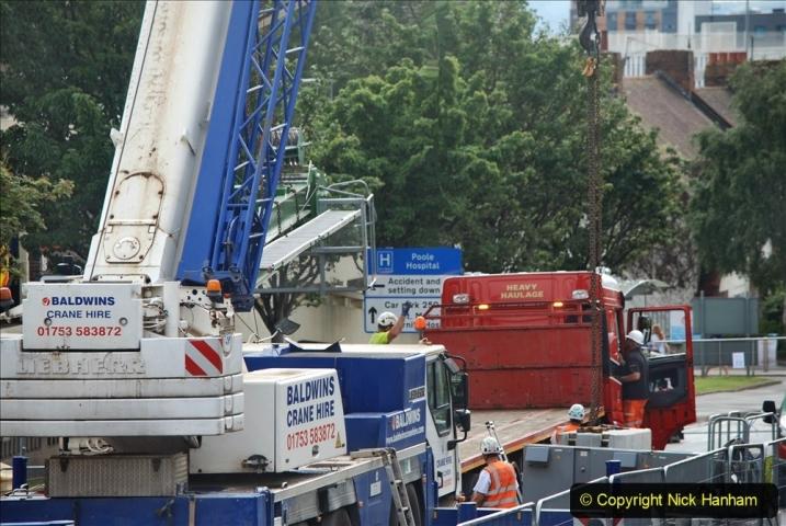 2021-07-31 Poole Hospital Crane Operation. (74) 074