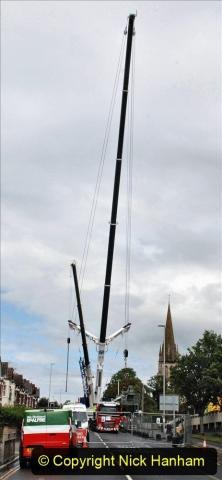 2021-07-31 Poole Hospital Crane Operation. (85) 085