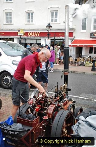2021-07-24 Mini Steam on Poole Quay, Poole, Dorset. (21) 021