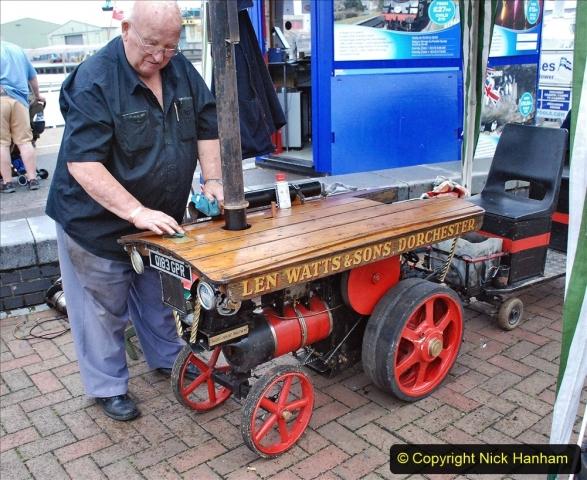 2021-07-24 Mini Steam on Poole Quay, Poole, Dorset. (32) 032