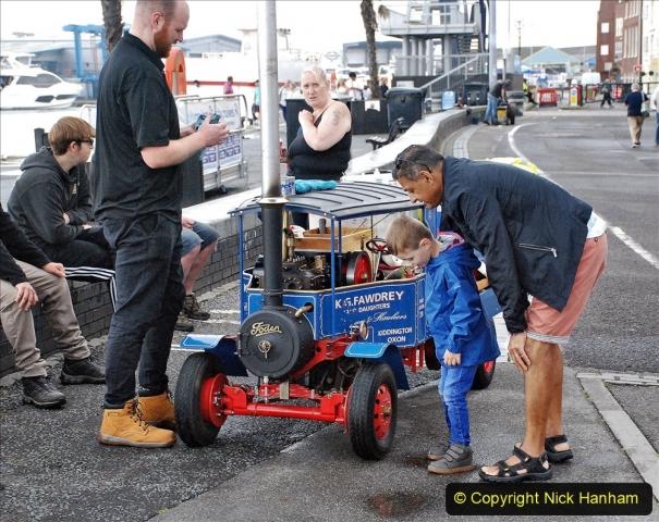 2021-07-24 Mini Steam on Poole Quay, Poole, Dorset. (46) 046
