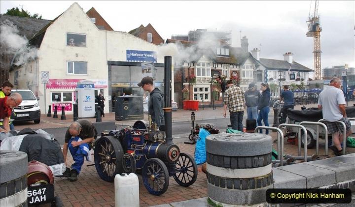 2021-07-24 Mini Steam on Poole Quay, Poole, Dorset. (54) 054