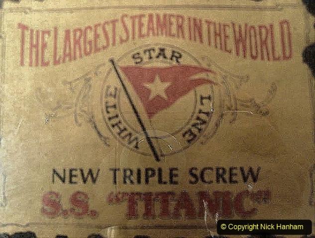 Travel the World. (171) 171 Original label from Titanic.