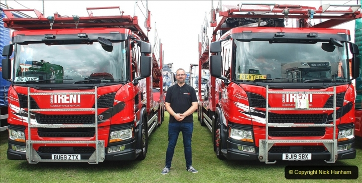 2021-06-26 The Devon Truck Show. (1) KEVTEE from Charles Trent at Truck Show. 001