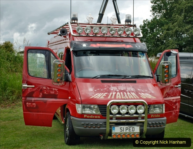 2021-06-26 The Devon Truck Show. (392) The Italian Job. 392