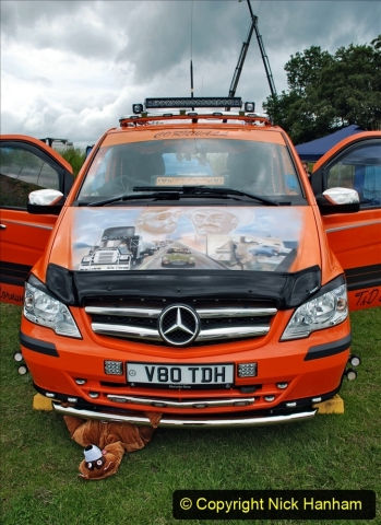2021-06-26 The Devon Truck Show. (399) Convoy. 399