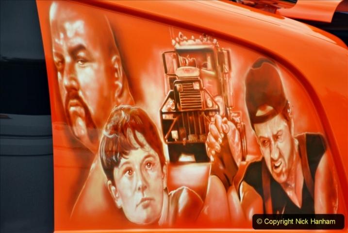 2021-06-26 The Devon Truck Show. (401) Convoy. 401