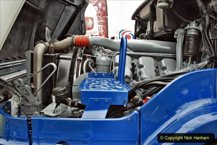 2021-06-26 The Devon Truck Show. (476) NHS TRibute. 473