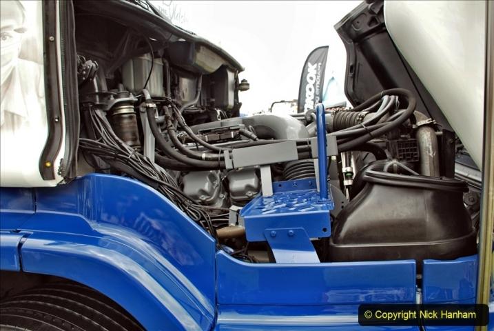 2021-06-26 The Devon Truck Show. (477) NHS TRibute. 473