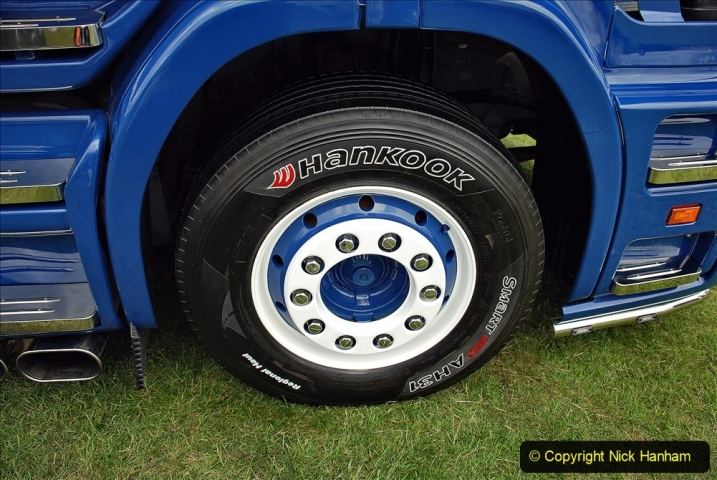 2021-06-26 The Devon Truck Show. (478) NHS TRibute. 473