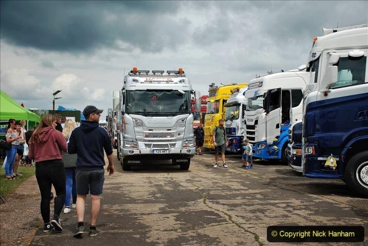 2021-06-26 The Devon Truck Show. (603) Truck Parade. 603