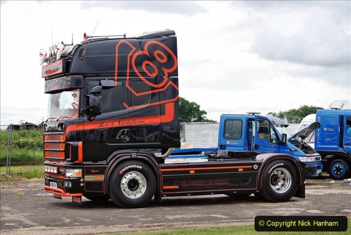 2021-06-26 The Devon Truck Show. (604) Truck Parade. 604