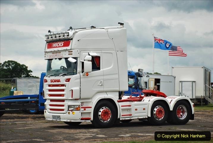 2021-06-26 The Devon Truck Show. (605) Truck Parade. 605