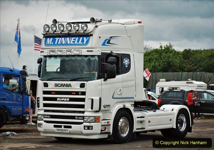 2021-06-26 The Devon Truck Show. (606) Truck Parade. 606