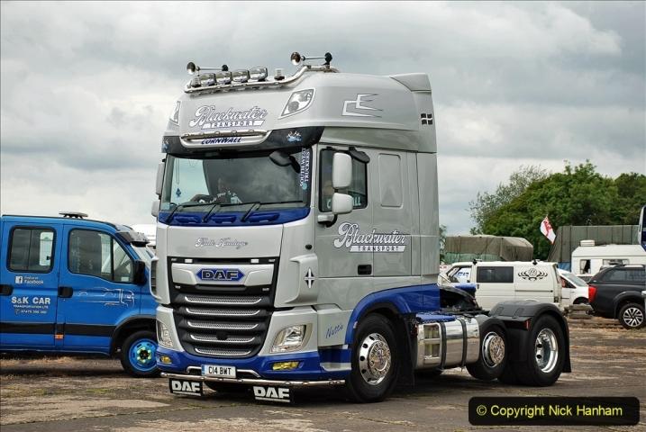 2021-06-26 The Devon Truck Show. (609) Truck Parade. 609