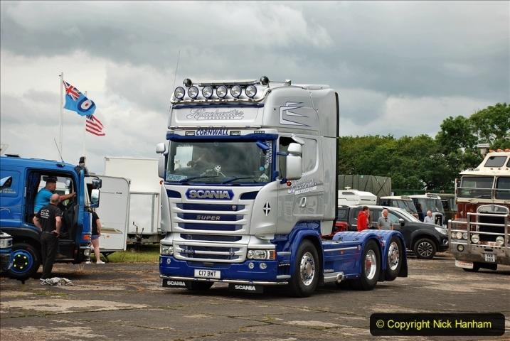 2021-06-26 The Devon Truck Show. (611) Truck Parade. 611