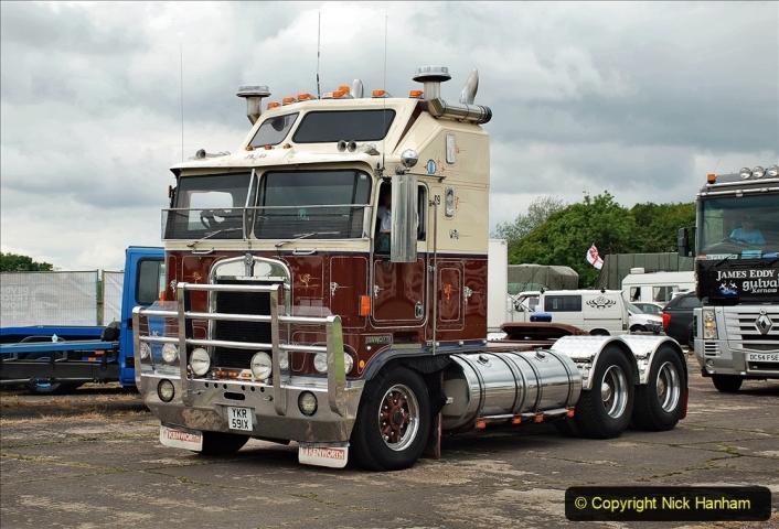2021-06-26 The Devon Truck Show. (612) Truck Parade. 612