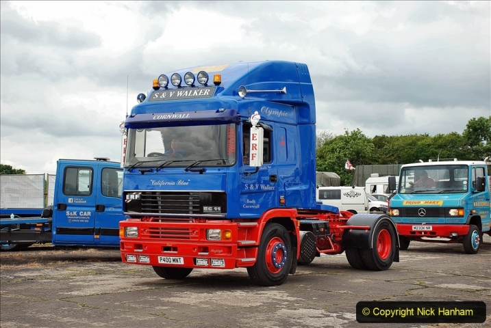 2021-06-26 The Devon Truck Show. (614) Truck Parade. 614