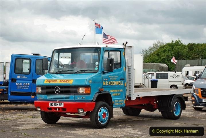 2021-06-26 The Devon Truck Show. (615) Truck Parade. 615