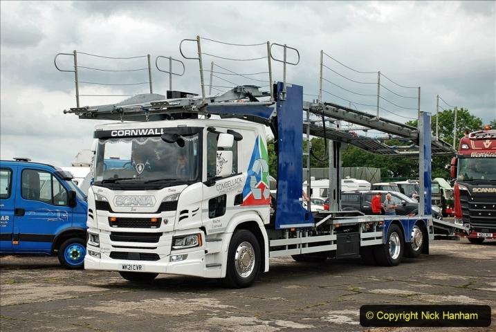 2021-06-26 The Devon Truck Show. (617) Truck Parade. 617