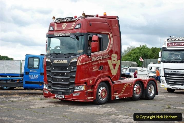 2021-06-26 The Devon Truck Show. (618) Truck Parade. 618