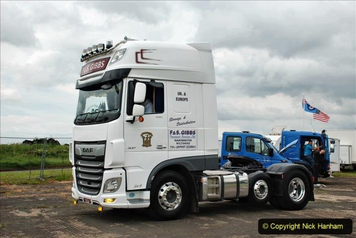 2021-06-26 The Devon Truck Show. (619) Truck Parade. 619