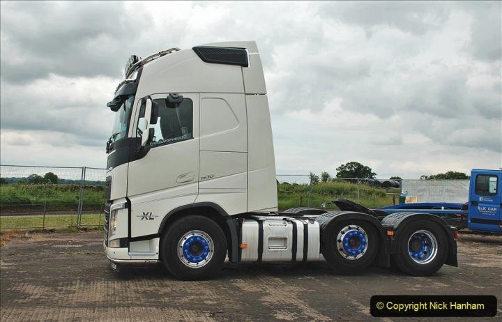 2021-06-26 The Devon Truck Show. (620) Truck Parade. 620