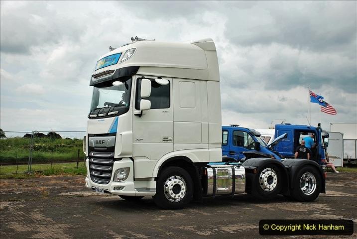 2021-06-26 The Devon Truck Show. (621) Truck Parade. 621