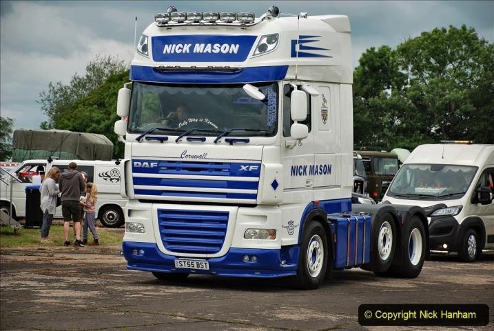 2021-06-26 The Devon Truck Show. (622) Truck Parade. 622
