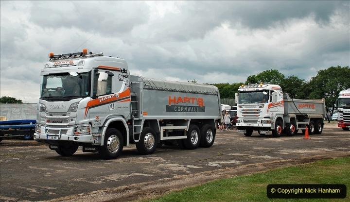 2021-06-26 The Devon Truck Show. (624) Truck Parade. 624