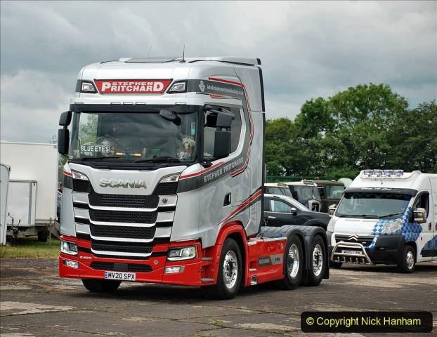 2021-06-26 The Devon Truck Show. (625) Truck Parade. 625