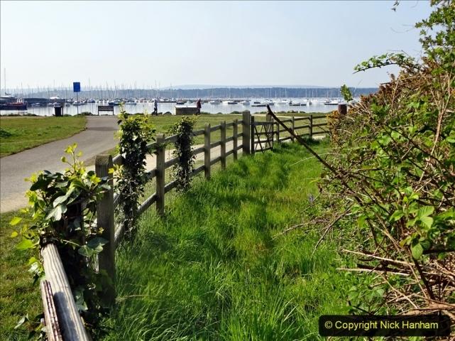 2021-05-01 Local Covid 19 Walk Poole, Dorset. (41) 041