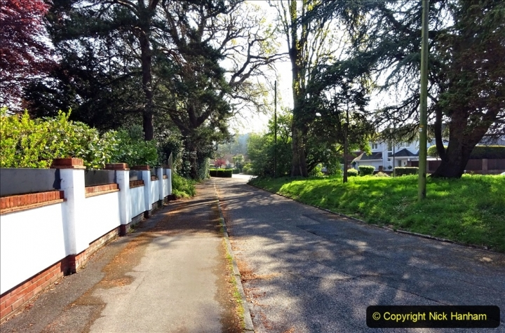 2021-05-01 Local Covid 19 Walk Poole, Dorset. (61) 061