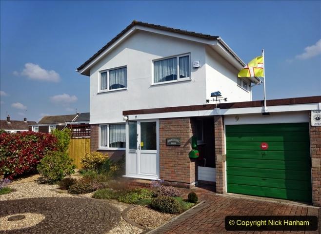 2021-05-01 Local Covid 19 Walk Poole, Dorset. (78) 078 Returning home.