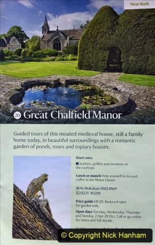 2021-05-18 Wiltshire Holiday Day 2. (1) Great Chalfield Mannor NT. 001