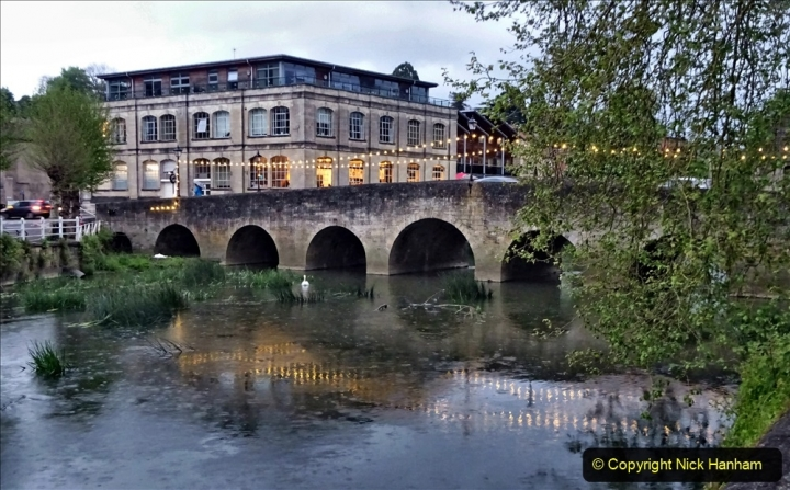 2021-05-18 Wiltshire Holiday Day 2. (98) Great Chalfield Mannor NT. Dusk in Bradford on Avon. 098