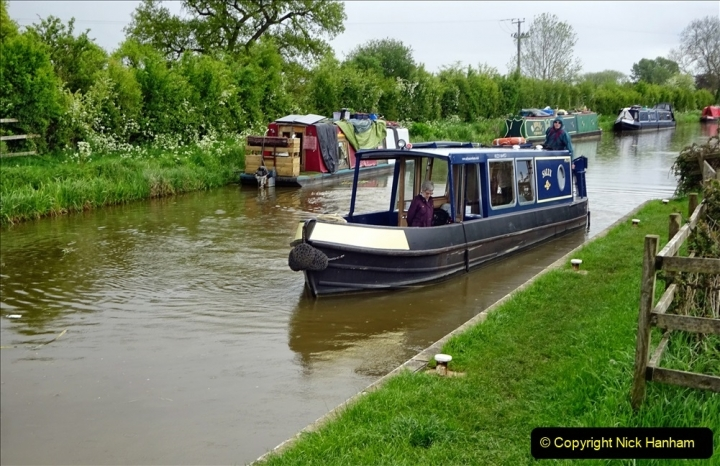 2021-05-19 Wiltshire Holiday Day 3. (103) Kennet & Avon Canal on a Sally Day Boat with friends. 103