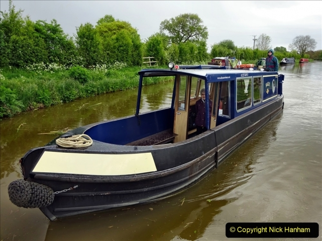 2021-05-19 Wiltshire Holiday Day 3. (104) Kennet & Avon Canal on a Sally Day Boat with friends. 104