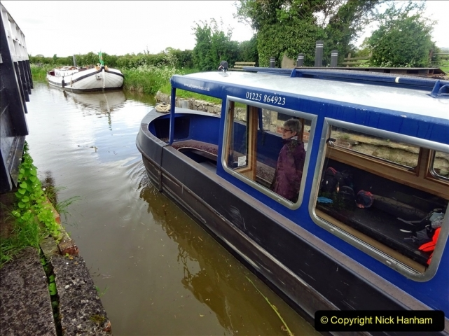 2021-05-19 Wiltshire Holiday Day 3. (106) Kennet & Avon Canal on a Sally Day Boat with friends. 106