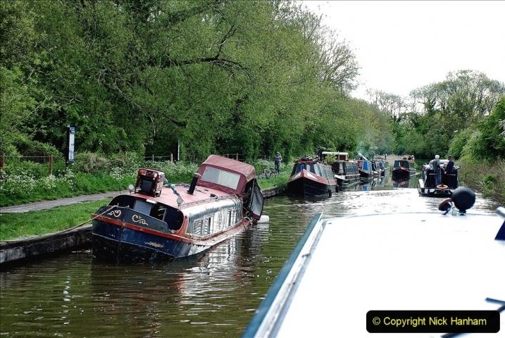 2021-05-19 Wiltshire Holiday Day 3. (18) Kennet & Avon Canal on a Sally Day Boat with friends. 018