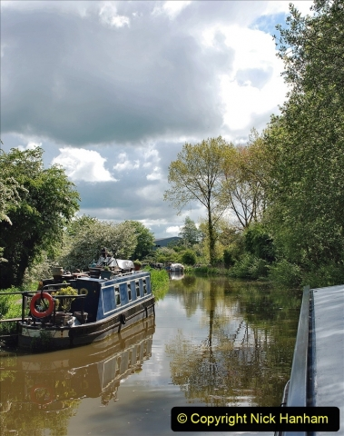 2021-05-19 Wiltshire Holiday Day 3. (34) Kennet & Avon Canal on a Sally Day Boat with friends. 034