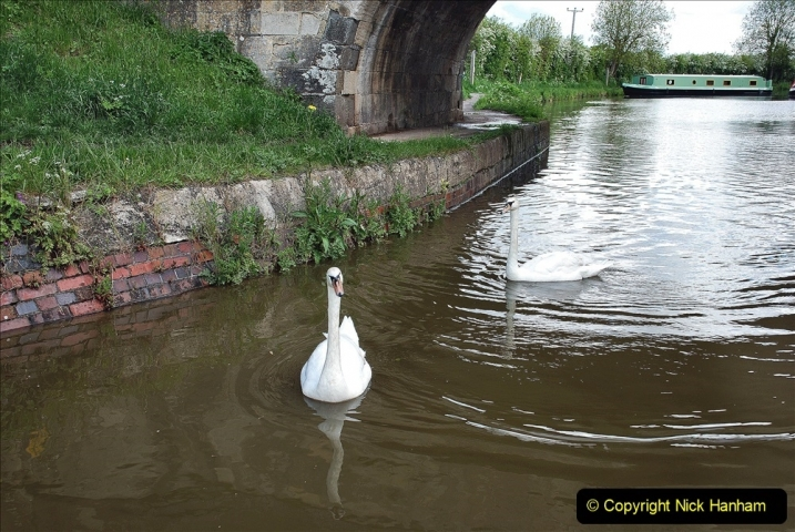 2021-05-19 Wiltshire Holiday Day 3. (53) Kennet & Avon Canal on a Sally Day Boat with friends. 053
