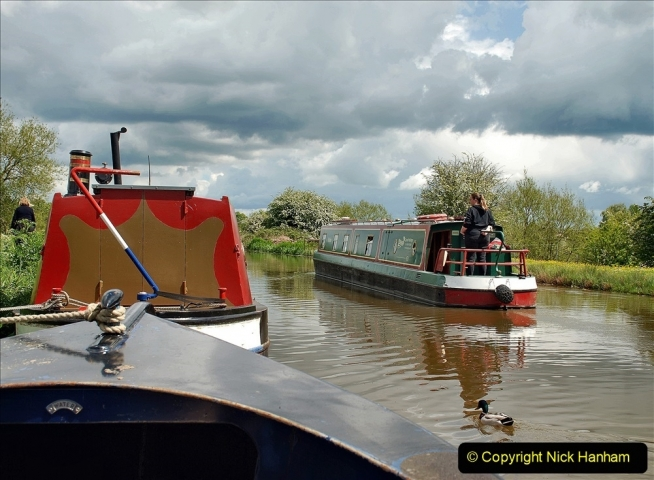 2021-05-19 Wiltshire Holiday Day 3. (79) Kennet & Avon Canal on a Sally Day Boat with friends. 079