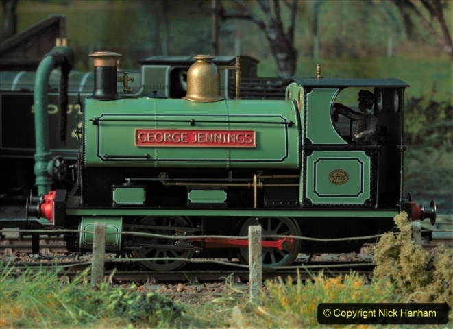 1950s George Jennings Pottery Locomotive George Jennings. (7) Model. 008