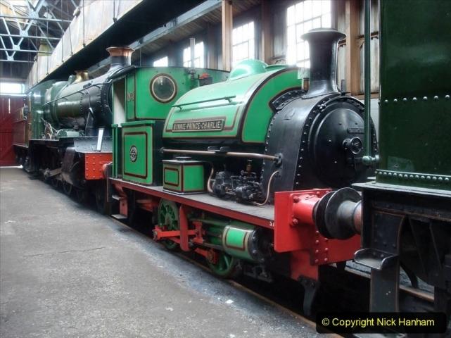 1950s Poole Quay shunting locomotives. (2) Bonnie Prince Charlie. 010