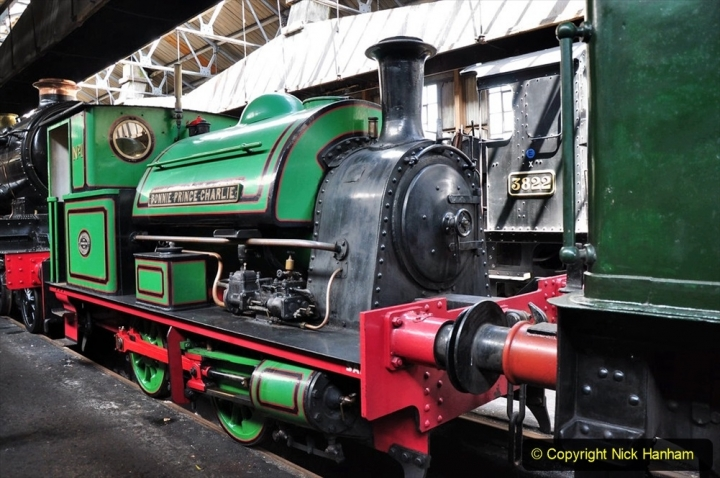 1950s Poole Quay shunting locomotives. (3) Bonnie Prince Charlie. 011