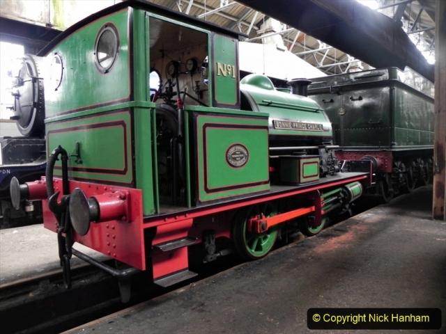 1950s Poole Quay shunting locomotives. (4) Bonnie Prince Charlie. 012