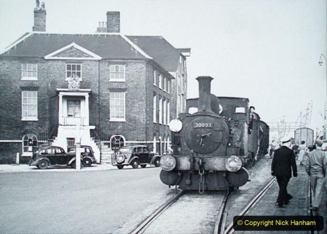 1950s Poole Quay with  B4 Locomotive. 014