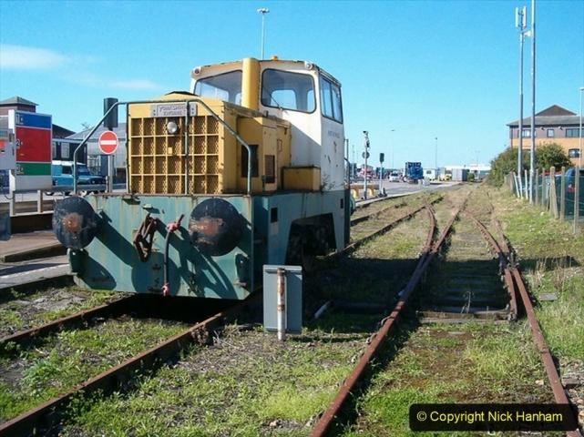 1990s Poole harbour Commision. diesel shunter. (1) 015