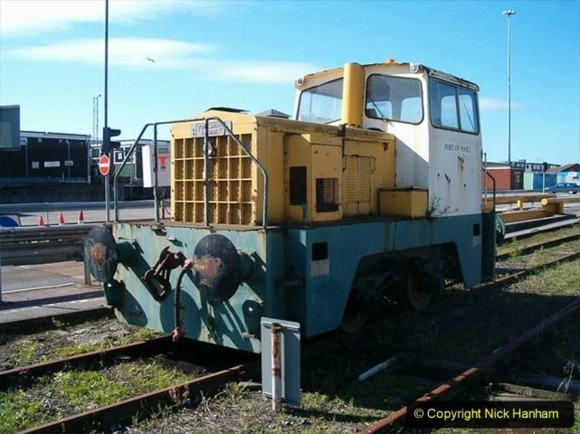 1990s Poole harbour Commision. diesel shunter. (2) 016